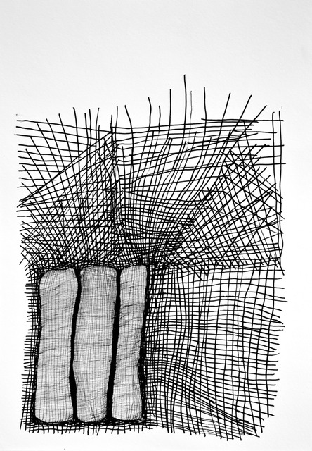 Unravel 5 Ink on Paper 42 cm x 29 cm